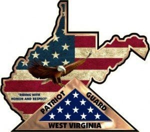 West Virginia Contour Vinyl Decal