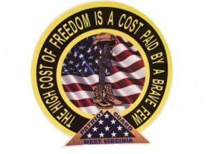 Cost of Freedom Decal